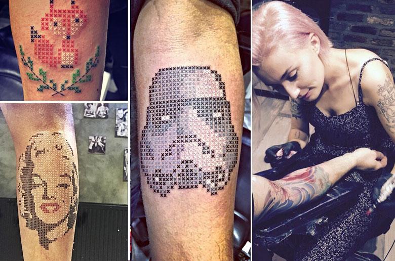 Tattoo σταυροβελονιά!