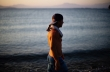 Ο Νικόλας Πλυτάς «σχηματίζει» το σήμα της ειρήνης στο νερό