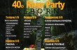 40 River Party Reborn - Δείτε το πρόγραμμα