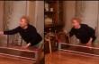 Η γιαγιά ήθελε να παίξει πινγκ-πονγκ