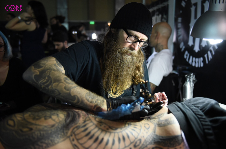 Το Core πήγε στο Athens Tattoo Expo