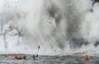 Kayakers αντιμέτωποι με καυτή λάβα στη Χαβάη!