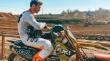 Ο Παναγιώτης Κουζής στον τέταρτο αγώνα του Βαλκανικού Πρωταθλήματος Μotocross