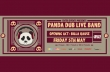 Panda Dub Live Band